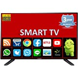 SCEPTRE 101.6 cm (40 Inches) Full HD LED Smart Android TV SMT40HDV (Black) (model_year 2018)