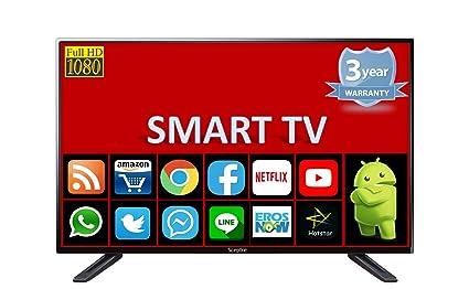 SCEPTRE 101 6 cm (40 Inches) Full HD LED Smart Android TV SMT40HDV  (Black)(2018 model)