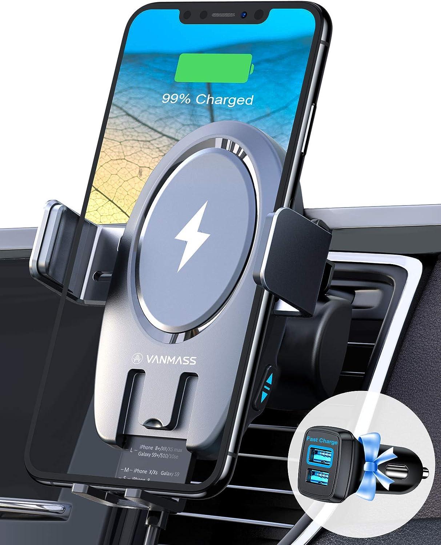 VANMASS 15W Wireless Car Charger