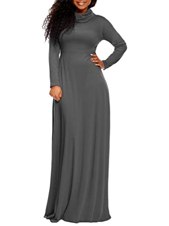 Long Sleeve Maxi Dresses with Boots Pic