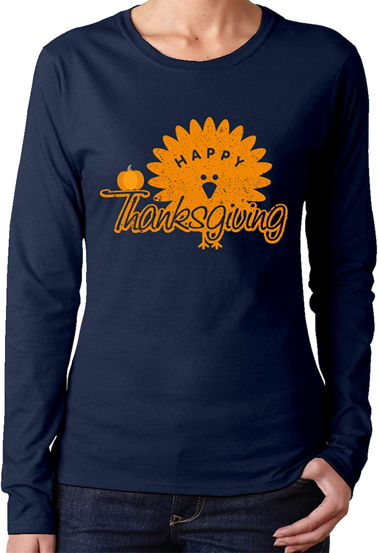 Feliz día de Acción de Gracias de las Mujeres Camisetas de ...