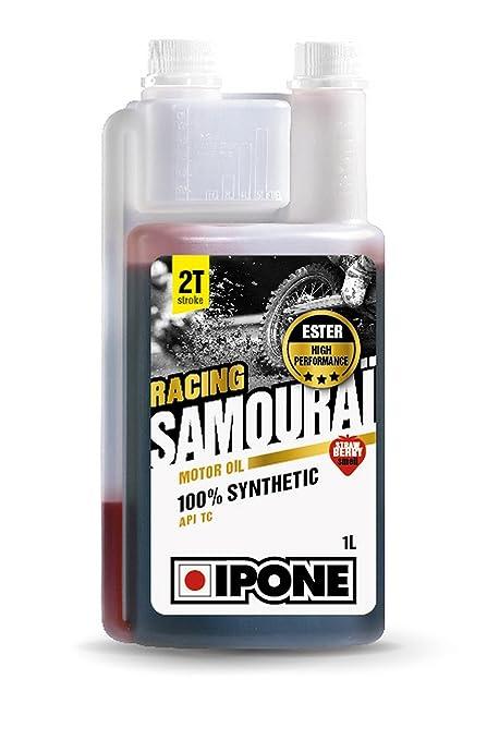 Ipone Samourai Racing - Aceite de Motor de 2 Tiempos, Rendimiento 800090, Fresa