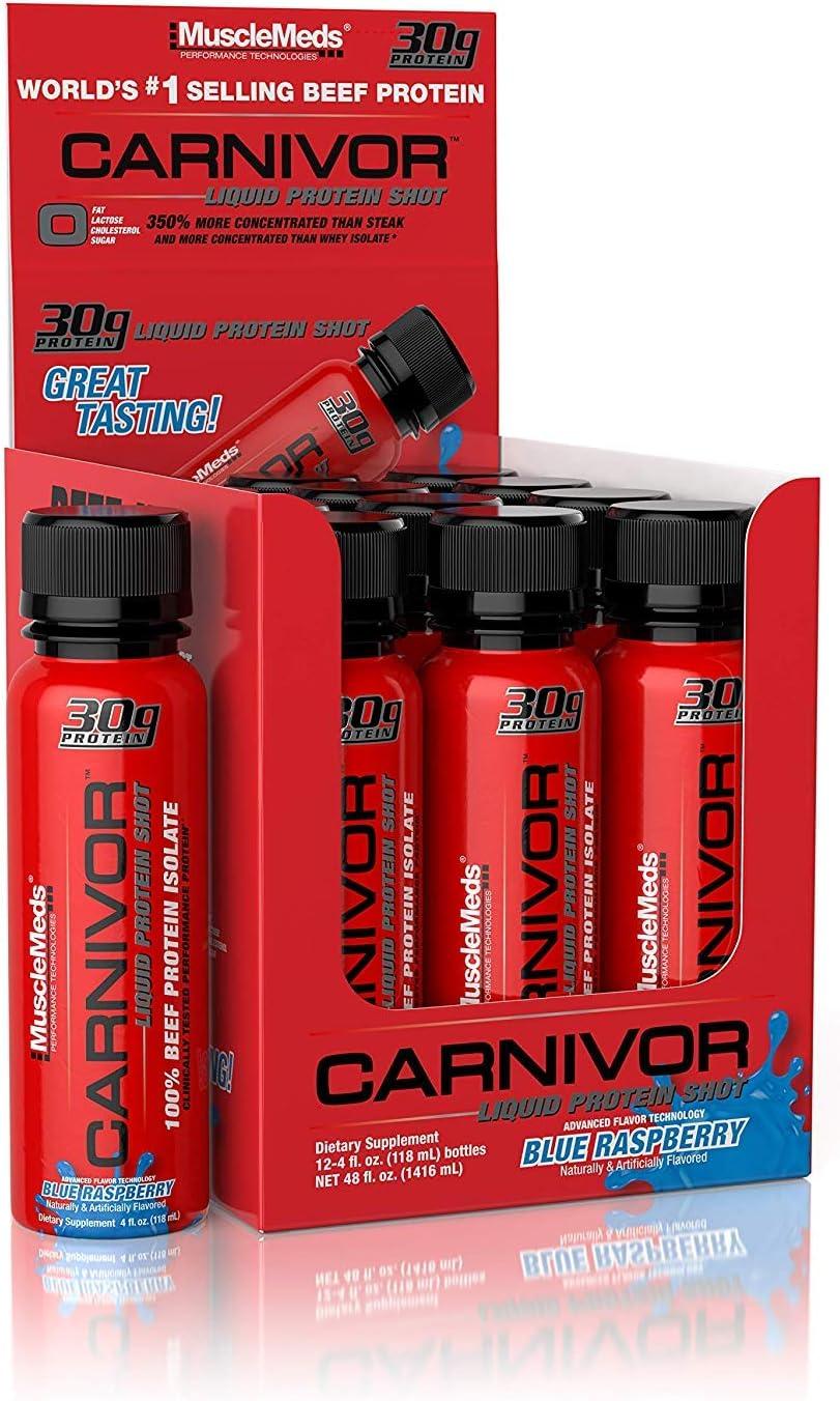 Muscle Meds Carnivor Liquid Protein Shot (12x118ml) 1416 ml