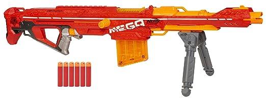 29 opinioni per Nerf A6288E240- Fucile a freccette N-Strike Elite Mega Centurion