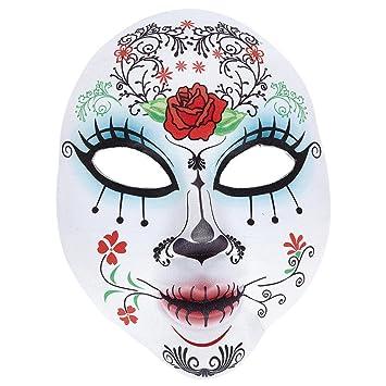 Sugar Skull antifaz Halloween Máscara Día de los muertos Careta día de los muertos Caracterización temática