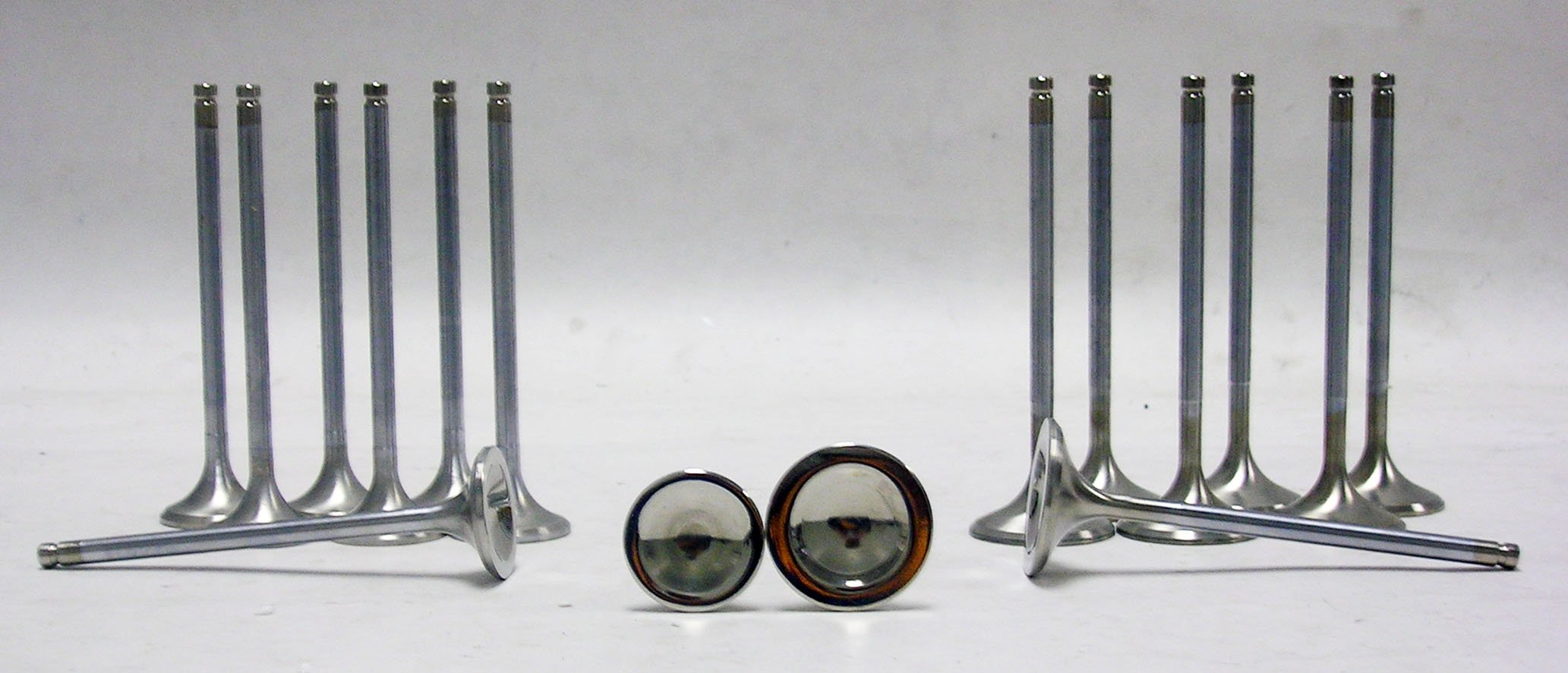 OBX Stainless Steel Exhaust Valve Set Honda Acura Integra Civic Si Del Sol
