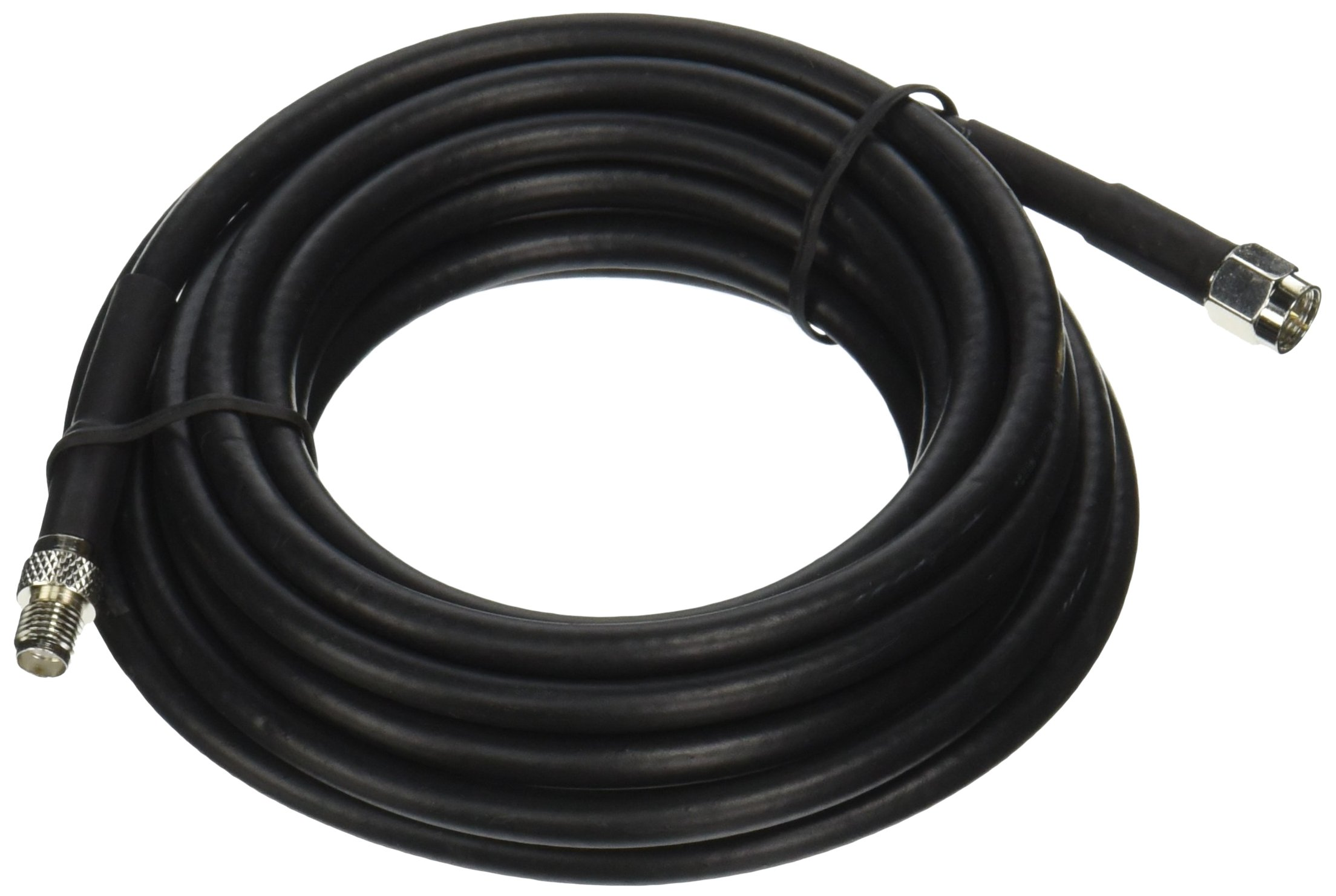 Wilson Electronics 10 ft. Black RG58 Low Loss Coax Cable (SMA Male to SMA Female)