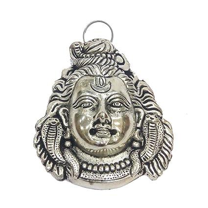 Amazon Com Indian Handicrafts Export Oxidized Hanging Shankar Face