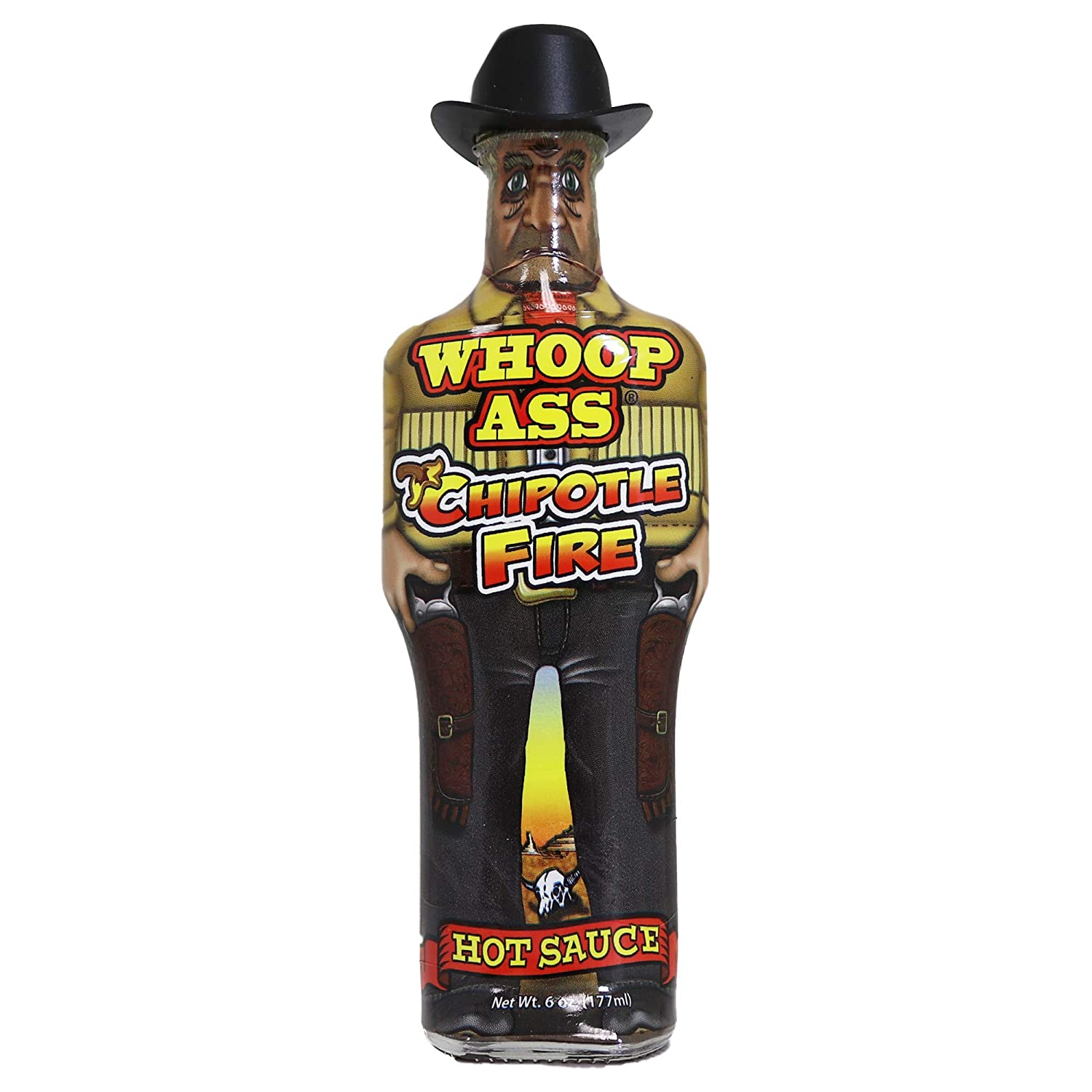 WHOOP ASS Premium Chipotle Fire Hot Sauce - 5 oz – Try if you dare! – Perfect Gourmet Gift for the Hot Sauce Fan