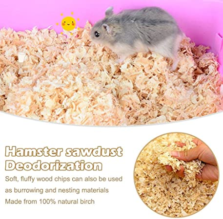 Camphiking 100 Natural Hamster Bedding Safe And Soft Animal Small Pet Bedding Wood Paper For Rabbit Guinea Pig Chinchillas Warm And Deodorant 500g Amazon Co Uk Kitchen Home