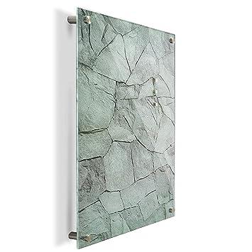 Pizarra Casa Pura® Pizarra de vidrio magnética con imanes ...
