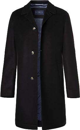 Tommy Hilfiger Tailored Herren Mantel Mantel Warme Jacke Uni   Uninah,  Größe  56, cfde28ee04