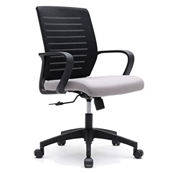 amazon com breathable ventilated mesh office chair with swivel