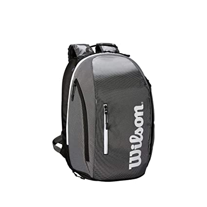 Wilson Mochila Super Tour Backpack Negro Blanco: Amazon.es: Deportes y aire libre