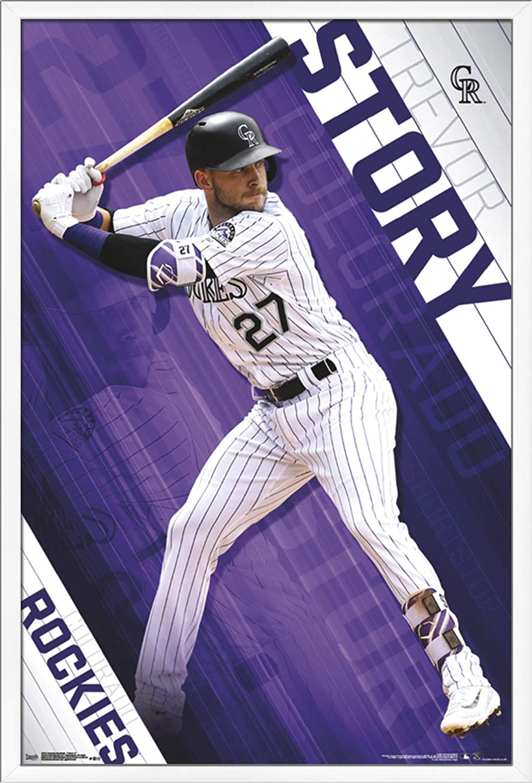 Trends International MLB Colorado Rockies - Trevor Story Wall Poster,  22 375