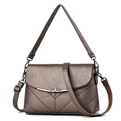 cf6e036f53f4 Women s Stylish PU Leather Casual Shoulder Bag Crossbody Bags Casual Messenger  Bags Handbag
