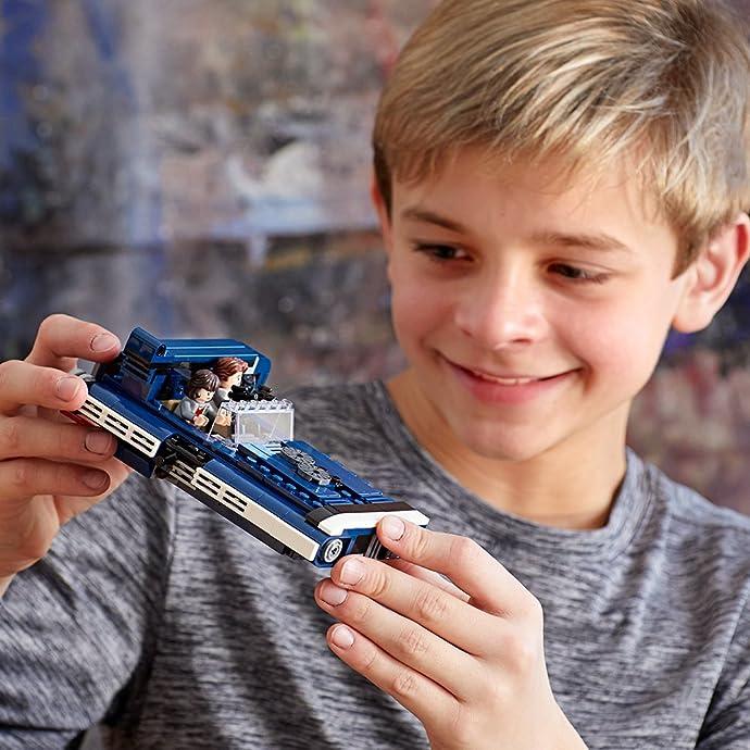 LEGO 乐高 Star Wars 星球大战系列 75209 汉索罗的地面飞艇 排插类积木玩具 6.6折$21.53史低 海淘转运到手约¥152
