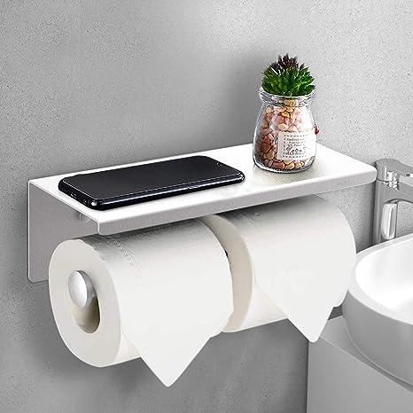 Edelstahl Toilettenpapierhalter Papierhalter WC Rollenhalter Klopapierhalter