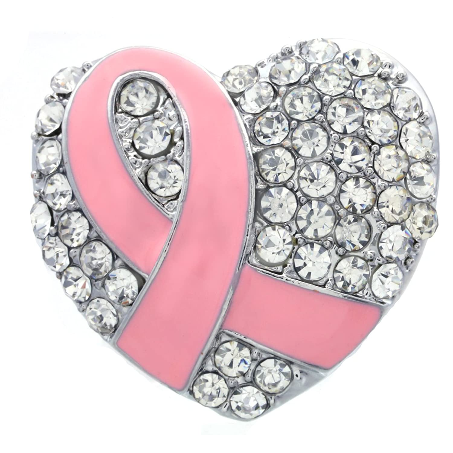 Amazon.com: Soulbreezecollection Light Pink Ribbon Breast Cancer ...