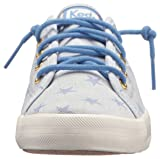 Keds Girls' Kickstart Seasonal Sneaker, Blue 457, 5 Medium US Big Kid