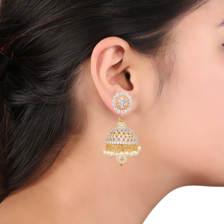 Swasti Jewels American Diamond CZ Fashion Jewellery Traditional