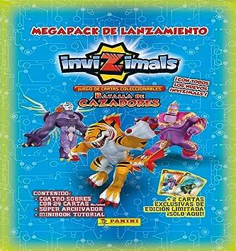 Invizimals - Megapack, Juego de Cartas, (Panini 002989SPE2)