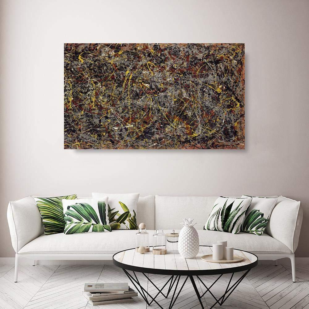 JH Lacrocon Número 5 1948 de Jackson Pollock - 120X70 cm ...