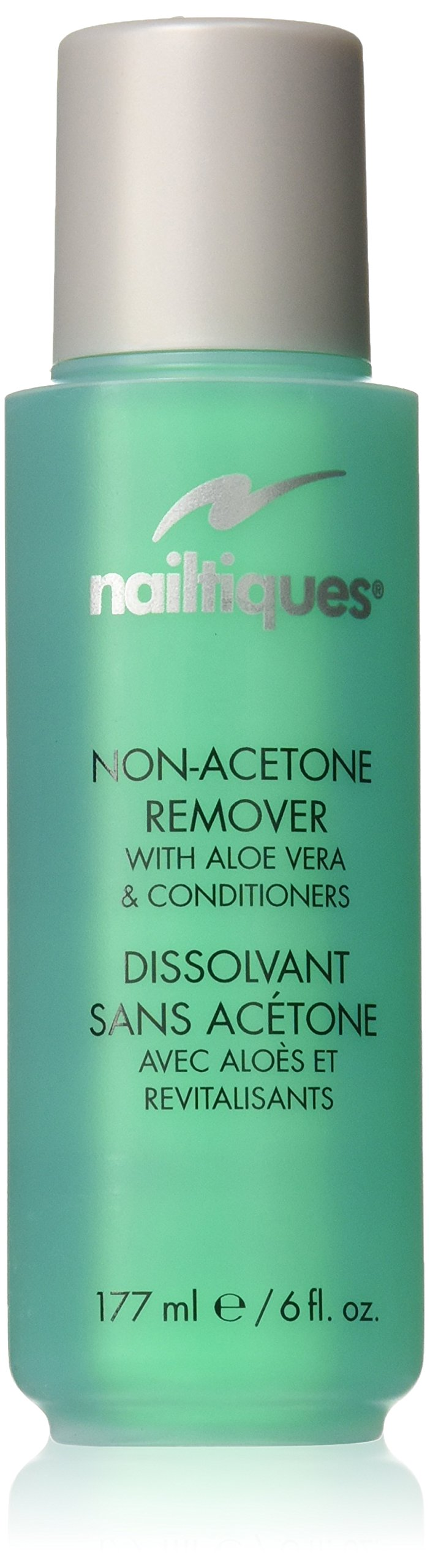 Nailtiques Non-Acetone Remover with Aloe Vera and Conditioners, 6 Ounce