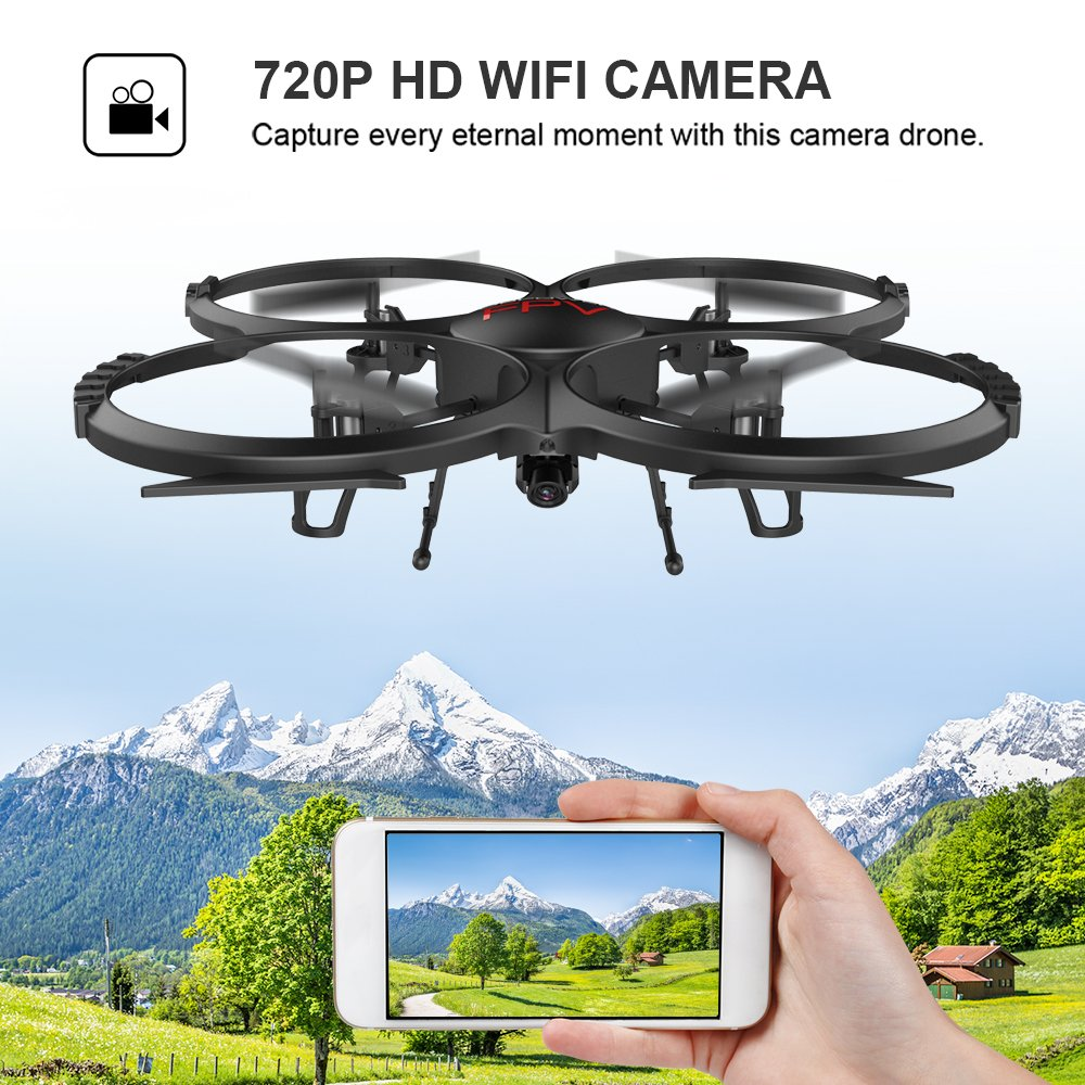 WIFI FPV Version U818A Drone