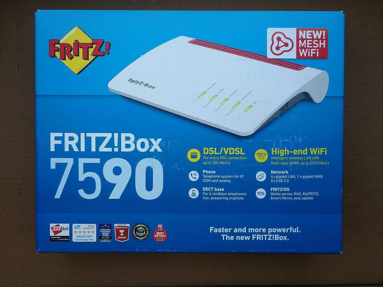 Avm Fritz Box 7590 Tim Edition International Modem Elektronik