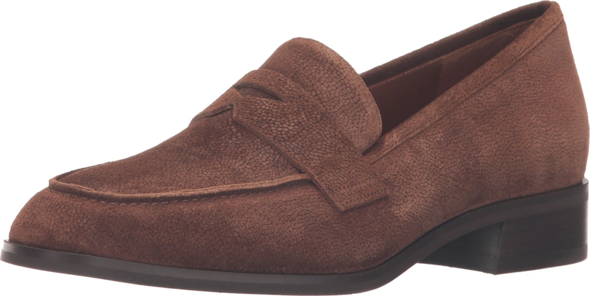 Aquatalia Women's Sharon Chestnut Pebbled Suede 8 B US