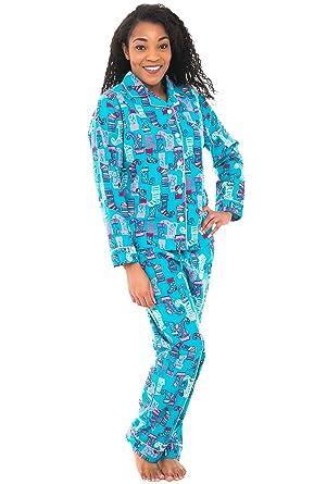 Alexander Del Rossa Womens Flannel Pajamas a8b9aee7f