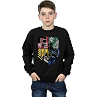HARRY POTTER niños Hogwarts Varsity Camisa De Entrenamiento 12-13 Years Negro