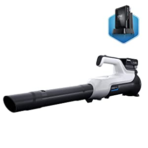 Hoover Blower ONEPWR Cordless Hard Surface Sweeper, Lightweight, Battery Powered, Handheld, BH57225, White