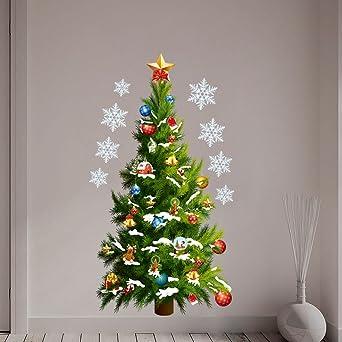 Weihnachtsdeko Kinderzimmer.Cloom Weihnachtsbaum Wandaufkleber Weihnachtsdeko Weihnachten