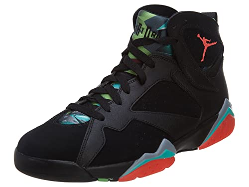 96b4419fb34 Nike Mens Air Jordan 7 Retro 30th Marvin Martian Black/Infrared 23-Blue  Graphite Suede Size 9. 5 Basketball Shoes: Buy Online at Low Prices in  India ...