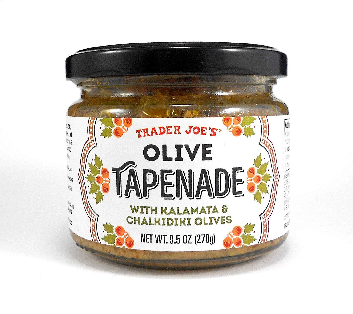 Image result for olive tapenade trader joe's""