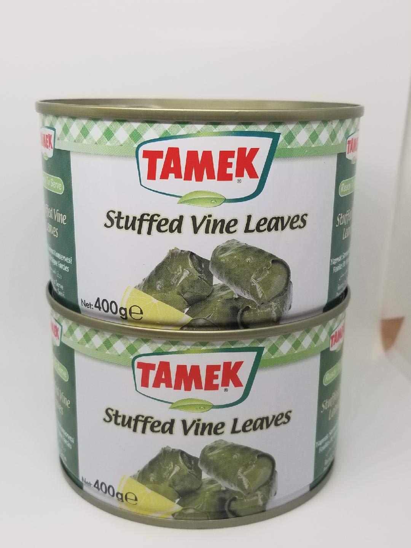 Tamek Stuffed Vine Leaves -420g by Tamek Stuffed Vine Leaves
