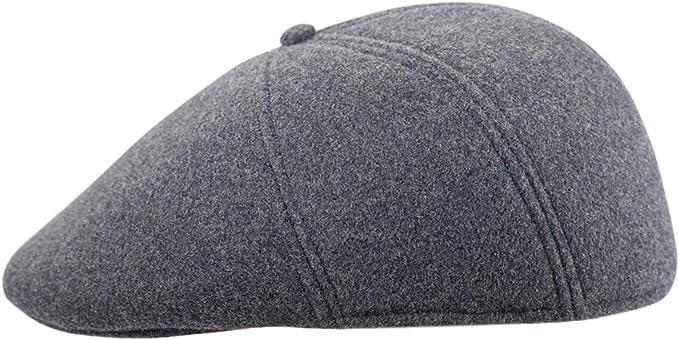 Sterkowski Warm Wool Blend Petersham Ivy League Flat Cap