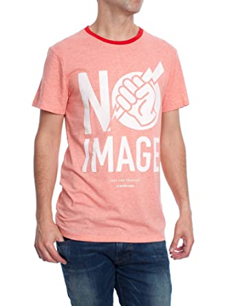 ece975fee58 G Star Men s T-Shirt - Pink - Medium  Amazon.co.uk  Clothing