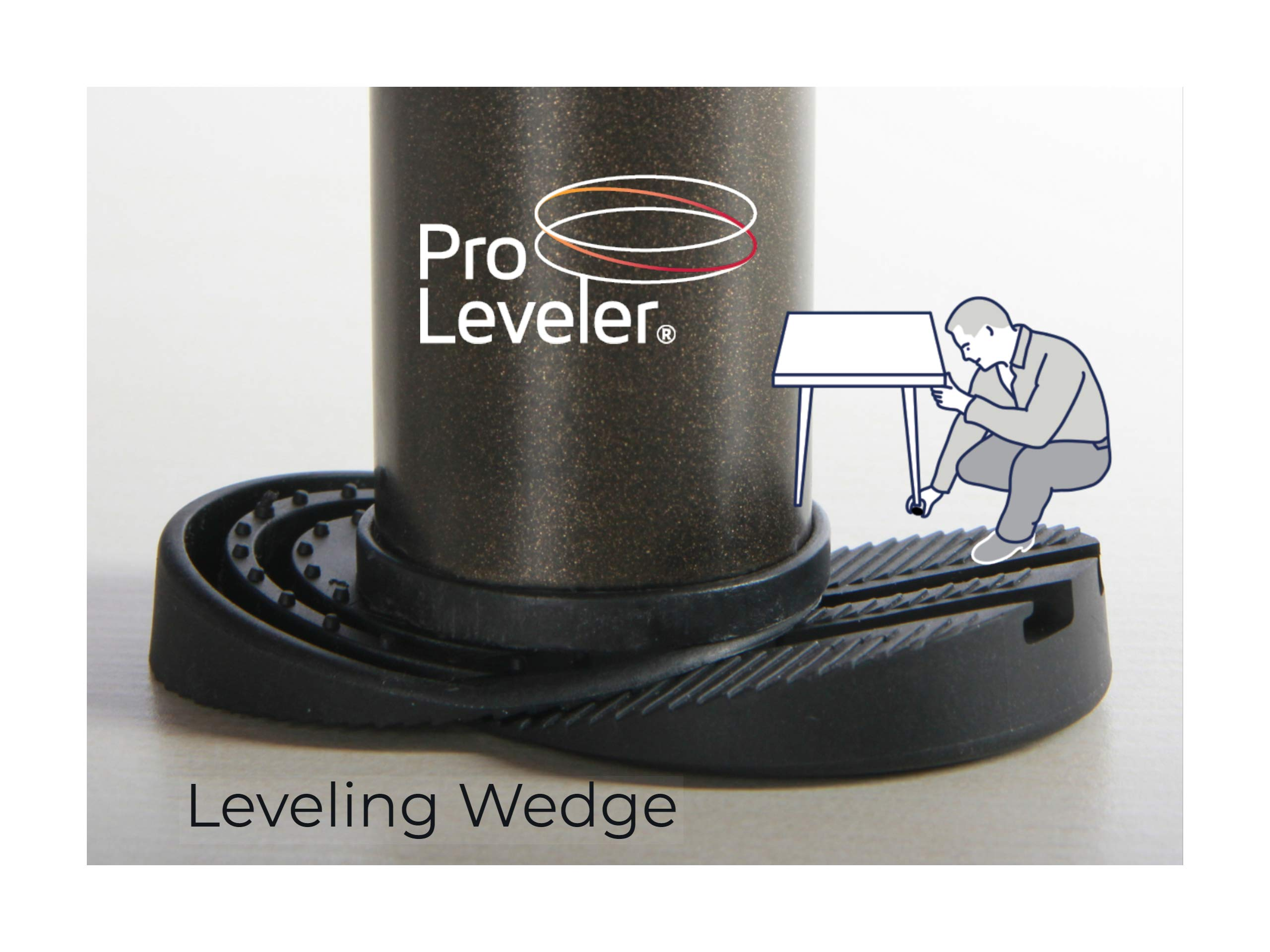 Leveling Wedge 12-Set Pack $20.00 for Wobbly Restaurant, Patio Tables and Furniture by Pro Leveler