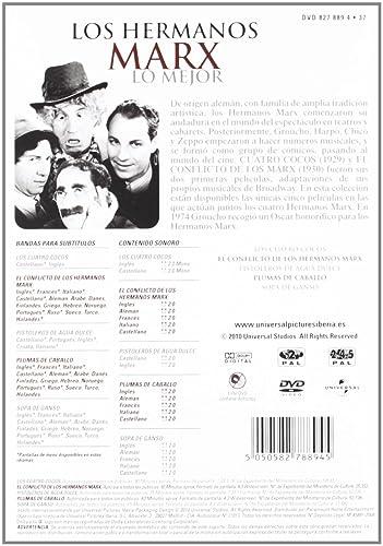 Pack Hermanos Marx (Dvd): Amazon.es: Groucho Marx, Harpo Marx ...