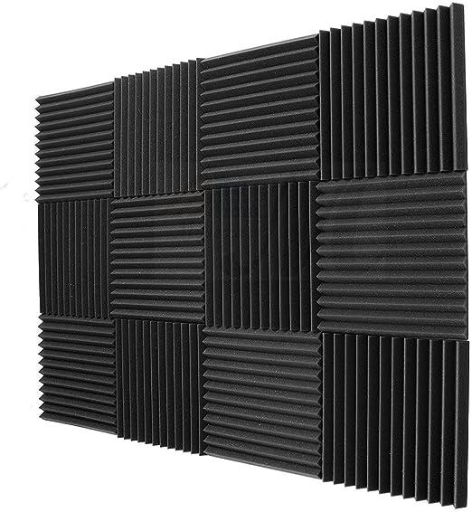 6 StüCke Schall Schutz Schaum Studio Akustik Schaum Schall Schutz Absorptio K2F8