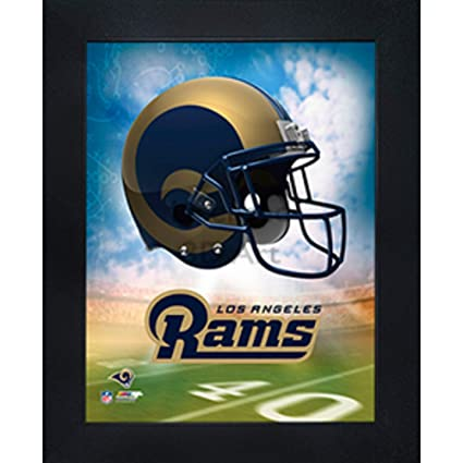 4c5d44aa Los Angeles Rams 3D Poster Wall Art Decor Framed Print | 14.5x18.5 |  Lenticular Posters & Pictures | Memorabilia Gifts for Guys & Girls Bedroom  | NFL ...