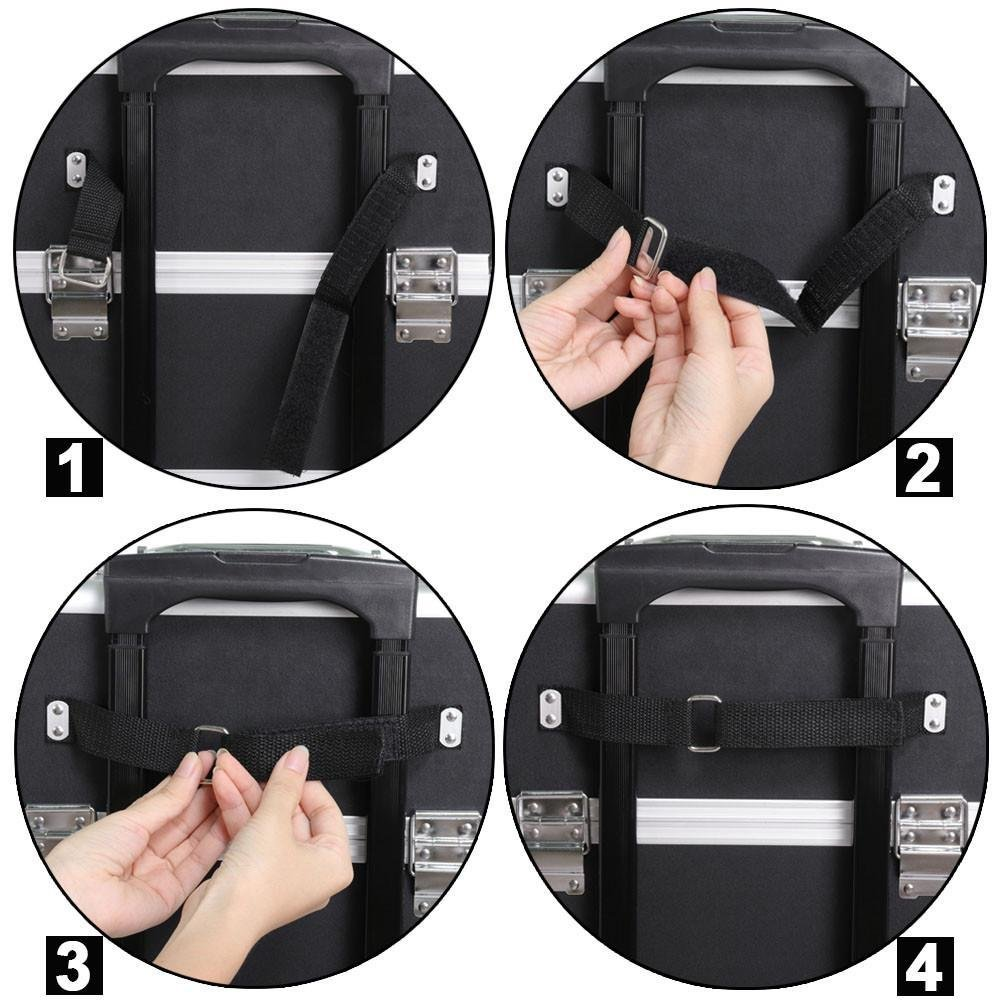9a00cc38f2f4 Bingua.com - Gotobuy 3 in 1 Makeup Organizer Makeup Beauty Nail Case ...