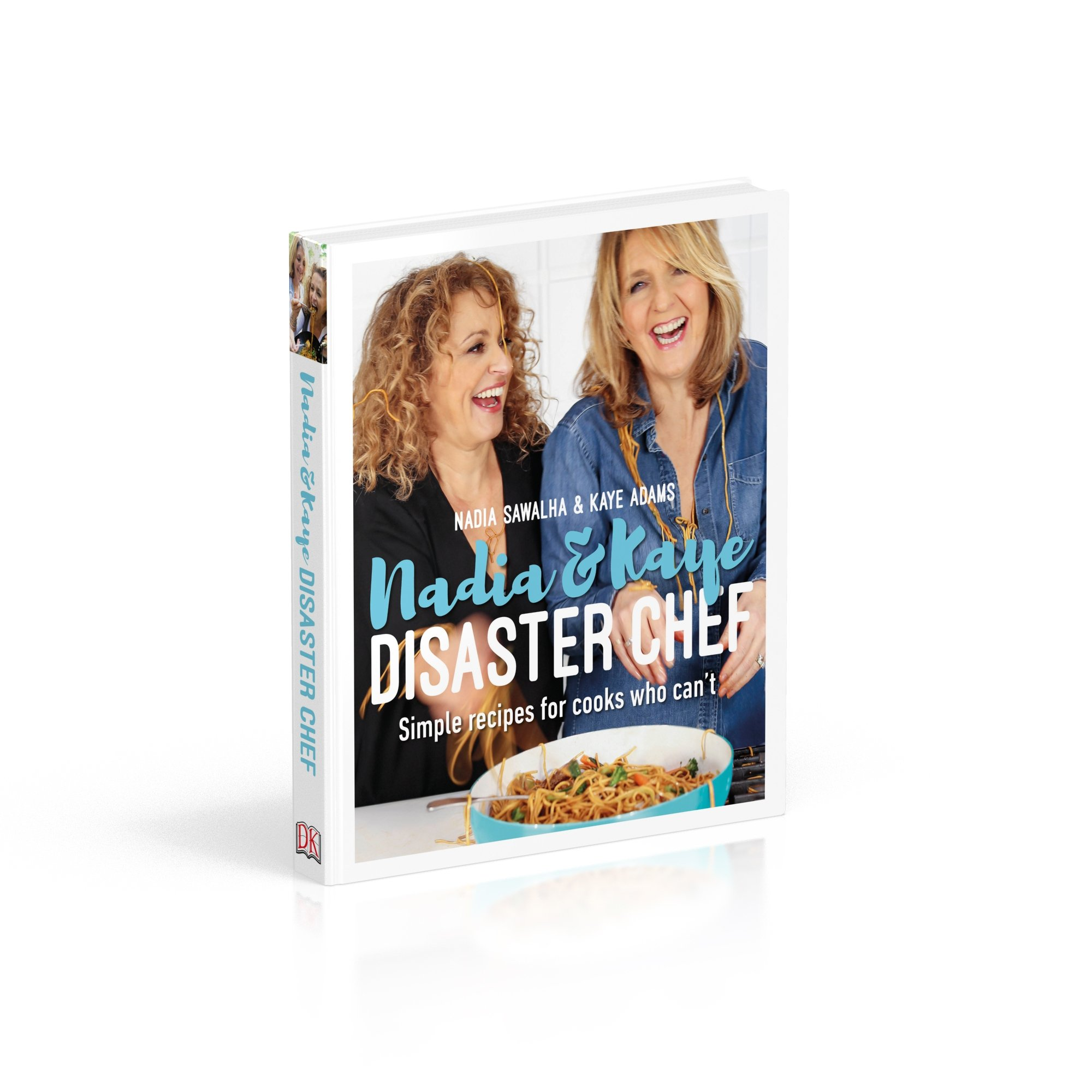 Disaster Chef' Kaye Adams Will Learn Nadia Sawalha's Recipes In Brand New Cookbook