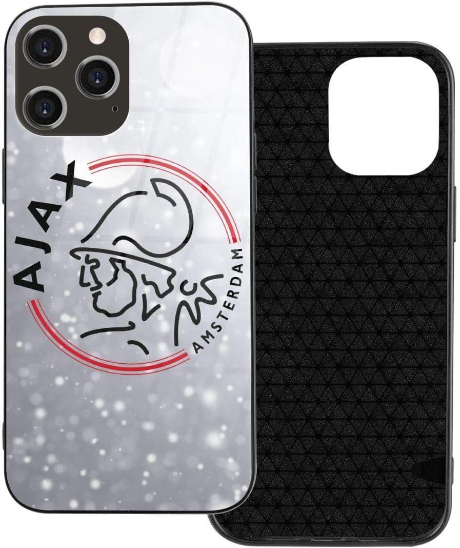 Yangxud AFC Ajax Amsterdam Club Socce iPhone 12 Series Glass Case Iphone12