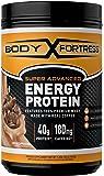 Body Fortress Energy Protein Powder, Mocha Cappuccino, 1.25 Pound
