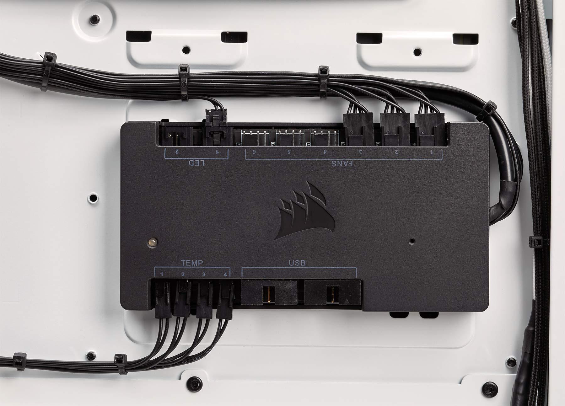 CORSAIR LL Series, LL120 RGB, 120mm RGB LED Fan, Triple Pack with Lighting Node PRO- White by Corsair (Image #6)