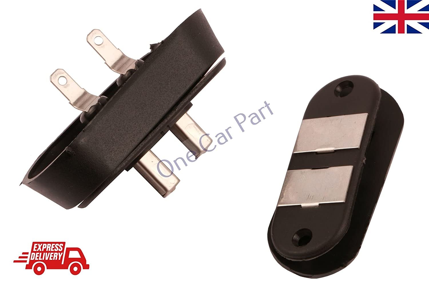 Black Sliding Door Contact Switch For Car Alarm Van Central Locking Systems PARLEX
